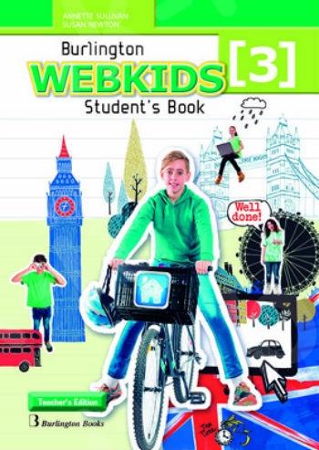 Burlington Webkids 3 - Teacher's Book (Βιβλίο Καθηγητή)