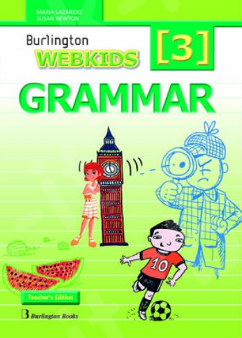Burlington Webkids Grammar 3 - Teacher's Grammar (καθηγητη)