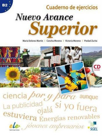 Nuevo Avance B2 Superior Ejercicios (+CD) (Βιβλίο Ασκήσεων με CD)