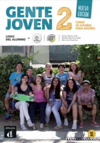 Gente Joven 2 Nueva Edición, Libro del alumno (+CD) (Βιβλίο του μαθητή με Cd)