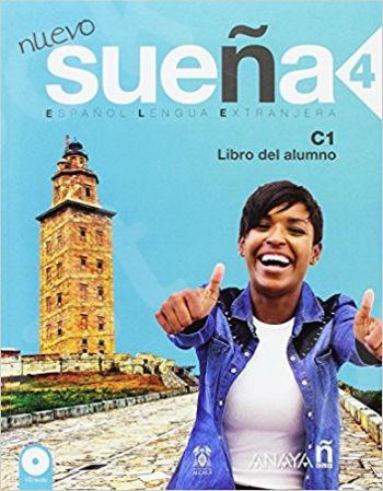 Nueva Suena 4 Alumno (+ CD(2)) (Βιβλίο του μαθητή με Cd) - 2017!!