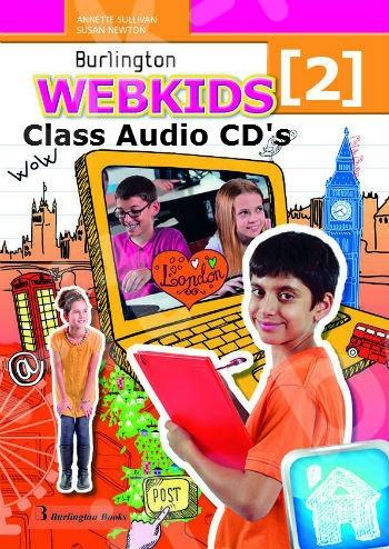 Burlington Webkids 2 - Class Audio CDs