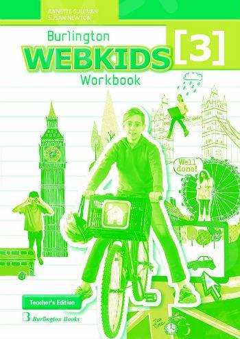 Burlington Webkids 3 - Teacher's Workbook (καθηγητή)