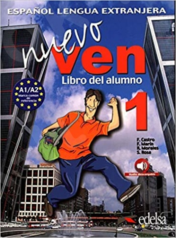 Nuevo Ven 1  Alumno (+Downloadable Audio) (Βιβλίο Μαθητή)