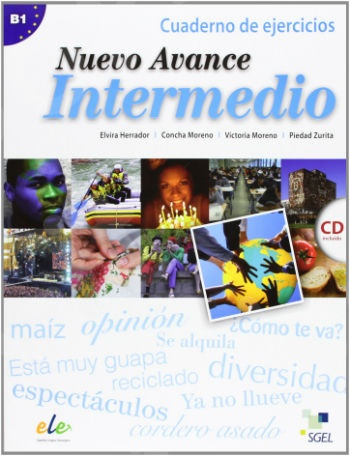 Nuevo Avance B1 Intermedio Ejercicios (+CD) (Βιβλίο Ασκήσεων με CD)