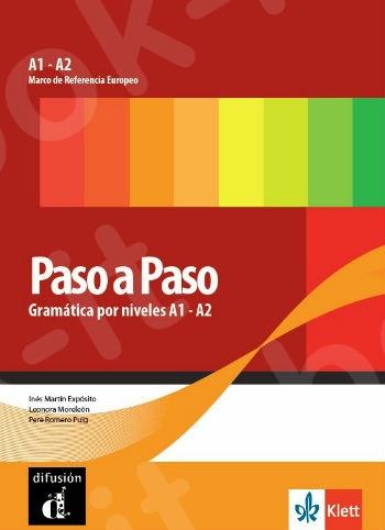 Paso a Paso, Gramática por niveles A1 - A2 (Βιβλίο Γραμματικής)