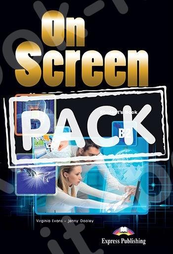 On Screen B2 - ΠΑΚΕΤΟ Power Pack 1 Όλα τα βιβλία της τάξης με Workbook DigiBook App.- New!!!