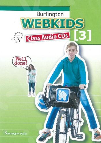 Burlington Webkids 3 - Class Audio CDs