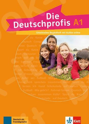 Die Deutschprofis A1, Griechisches Begleitheft mit Audios online(Γλωσσάριο & Συμπληρωματικό τετράδιο Ασκήσεων)