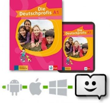 Die Deutschprofis A1 Übungsbuch+ Klett Book-App (βιβλίο ασκήσεων)