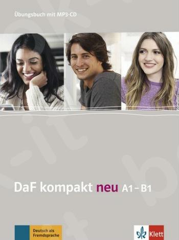 DaF kompakt A1-B1 (neu) - Ubungsbuch mit 2 Audio-CDs LIVEBOOK (Βιβλίο ασκήσεων με MP3-CD)