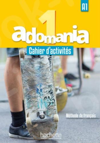 Adomania 1 : Cahier d'activités + CD audio + Parcours digital (Βιβλίο Ασκήσεων Μαθητή)