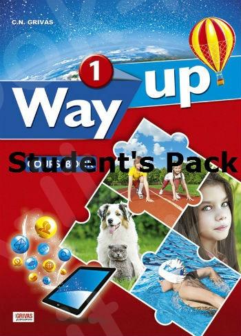 Way Up 1  - Πακέτο Όλα τα Βιβλία της τάξης (Grivas)