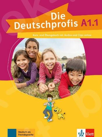 Die Deutschprofis A1.1, Kurs- und Übungsbuch mit Audios und Clips online(βιβλίο του μαθητή)