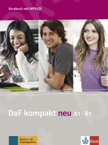 DaF kompakt A1-B1 (neu) - Kursbuch mit 3 Audio-CDs LIVEBOOK (Βιβλίο του μαθητή με CD)