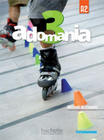 Adomania 3 : Livre de l'élève + DVD-ROM (Βιβλίο Μαθητή)