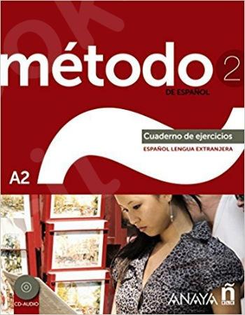 Metodo 2 de espanol (A2)Cuaderno De Ejercicios + CD (Spanish Edition)