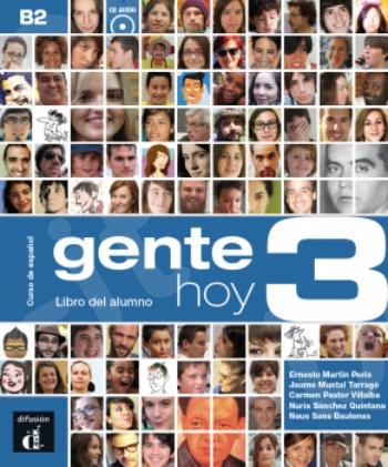 Gente hoy 3, Libro del alumno + CD(Βιβλίο Μαθητή με CD)