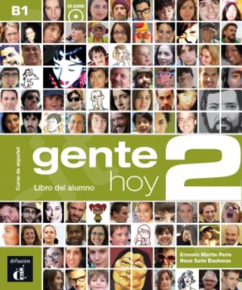 Gente hoy 2, Libro del alumno + CD(Βιβλίο Μαθητή με CD)