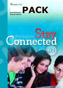 Burlington Stay Connected B2 - ΠΑΚΕΤΟ Όλα τα βιβλία της τάξης - Νέο !!!
