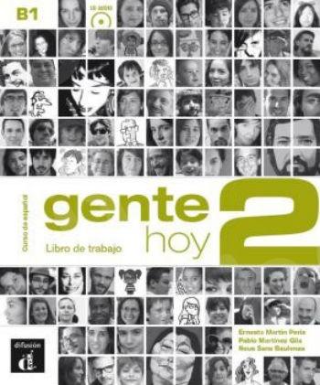 Gente hoy 2, Libro de trabajo + CD(Βιβλίο Ασκήσεων με CD)