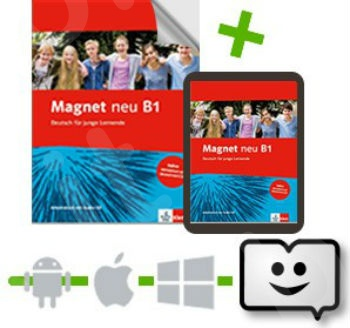 Magnet Neu B1  - Arbeitsbuch mit Audio-CD + Klett Book-App (για 12μηνη χρήση)(βιβλίο ασκήσεων)