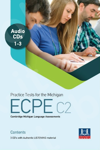 Tower Bridge Books - Practice Tests for the ECPE C2 - Class Audio Cd's (3)