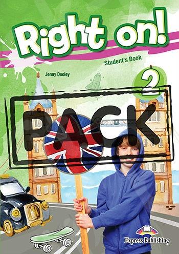 Right On 2 - Jumbo Pack (with Greek Grammar)(Πακέτο Μαθητή όλα τα βιβλία) - (Νέο !!)