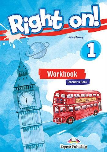 Right On 1 - Workbook Teacher's Book (with DigiBook App.)  (Ασκήσεων Καθηγητή) - (Νέο !!)