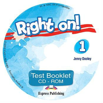 Right On 1 - Test Booklet CD-ROM - (Νέο !!)