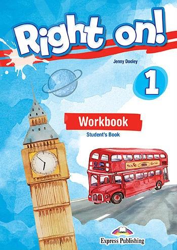 Right On 1 - Workbook Student's Book (with DigiBook App.) (Βιβλίο Ασκήσεων Μαθητή) - (Νέο !!)
