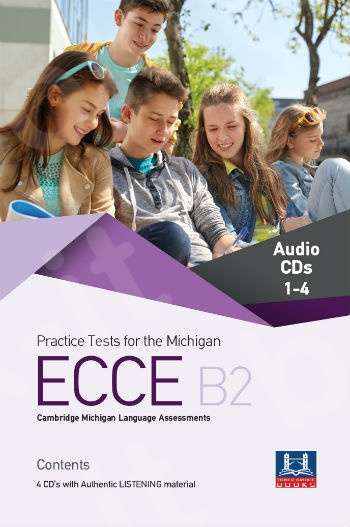 Tower Bridge Books - Practice Tests for the ECCE B2 - Class Audio Cd's (4)