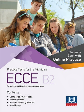 Tower Bridge Books - Practice Tests for the ECCE B2 - Student's Book with Online Practice