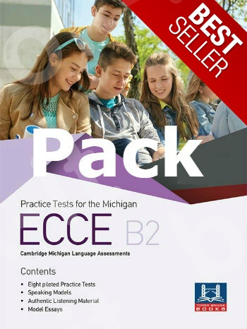 Tower Bridge Books - Practice Tests for the ECCE B2 - Pack (Student's Book + Teacher's Book + Mp3 (Audio Cd (1))  (Πακέτο)