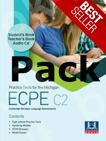 Tower Bridge Books - Practice Tests for the ECPE C2 - Pack (Student's Book + Teacher's Book + Mp3 (Audio Cd (1))  (Πακέτο)