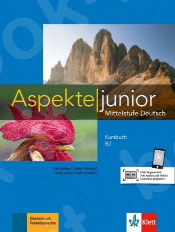 Aspekte junior B2, Kursbuch mit Audios zum Download(Βιβλίο του μαθητή).