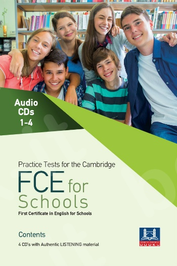 Tower Bridge Books - Practice Tests for the Cambridge FCE For Schools - Class Audio Cd's (4)