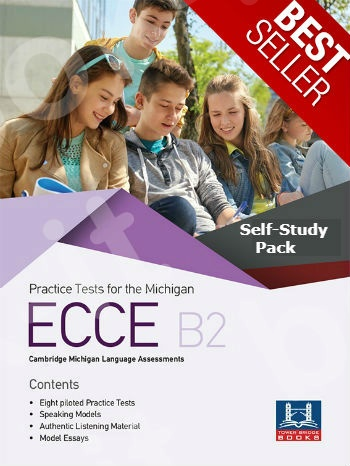 Tower Bridge Books - Practice Tests for the ECCE B2 - Self-Study Pack (Student's Book + Key + Mp3 (Audio Cd (1))  (Πακέτο)