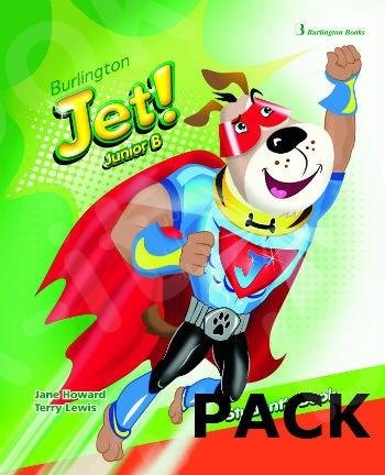 Burlington Jet! Junior B - ΠΑΚΕΤΟ Όλα τα βιβλία της τάξης
