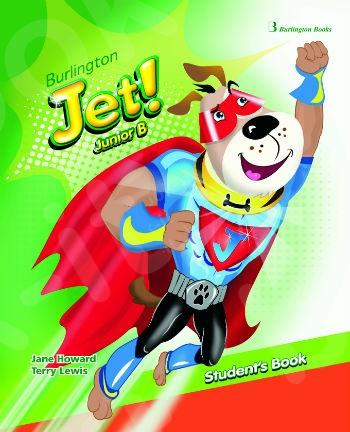 Burlington Jet! Junior B - Student's Book with My First Words Booklet  (Βιβλίο Μαθητή)