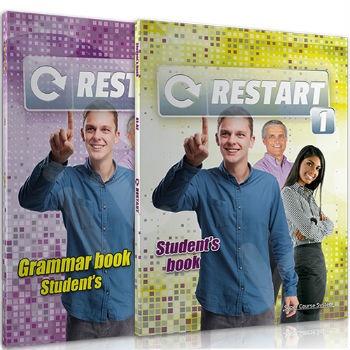 Super Course - Restart 1 - Πακέτο Μαθητή(Coursebook + Grammar Book + MP3 Cd + Glossary)