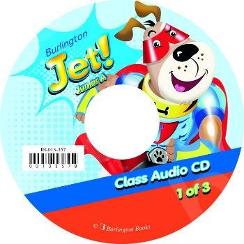 Burlington Jet! Junior A - Audio CD's (Ακουστικό CD)