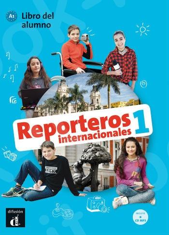 Reporteros Internacionales 1:Alumno(+ CD) (Βιβλίο μαθητή(+ CD))