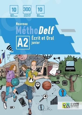 Nouveau MéthoDelf A2 Pack Élève (Livre + Tests)(Πακέτο μαθητή)