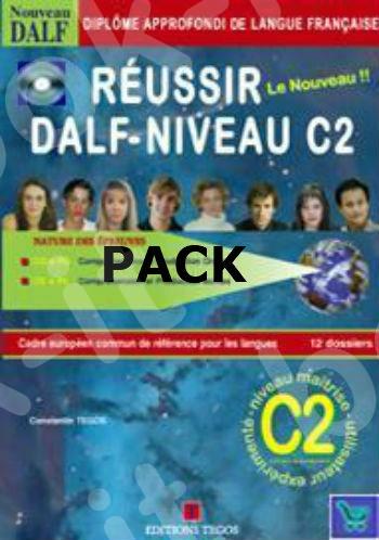 REUSSIR DALF C2 PACK (METHODE + CORRIGES + CD)