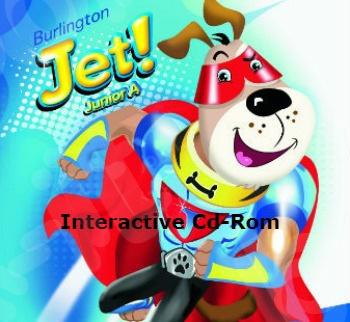 Burlington Jet! Junior A - Interactive Cd-Rom