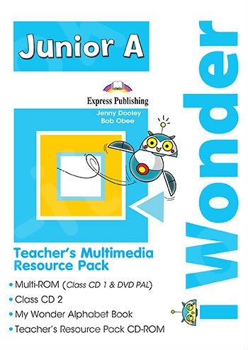 iWonder Junior A - Teacher's Multimedia Resource Pack PAL (set of 4)(Ψηφιακό πακέτο καθηγητή)