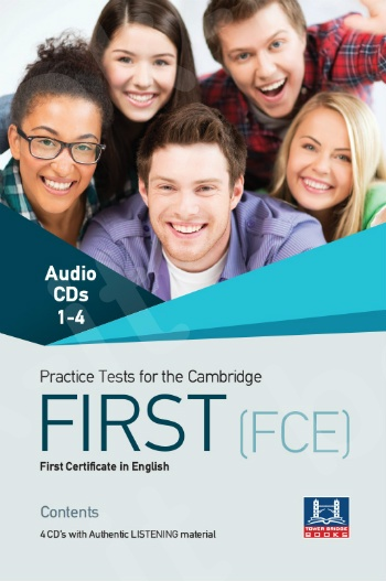 Tower Bridge Books - Practice Tests for the Cambridge First (FCE) - Class Audio Cd's (4)