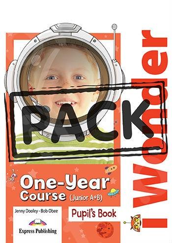 iWonder Junior A+B(One Year Course)  - Jumbo Pack (Πακέτο Μαθητή Jumbo)