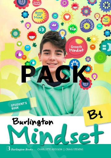Burlington Mindset B1 - ΠΑΚΕΤΟ Όλα τα βιβλία της τάξης